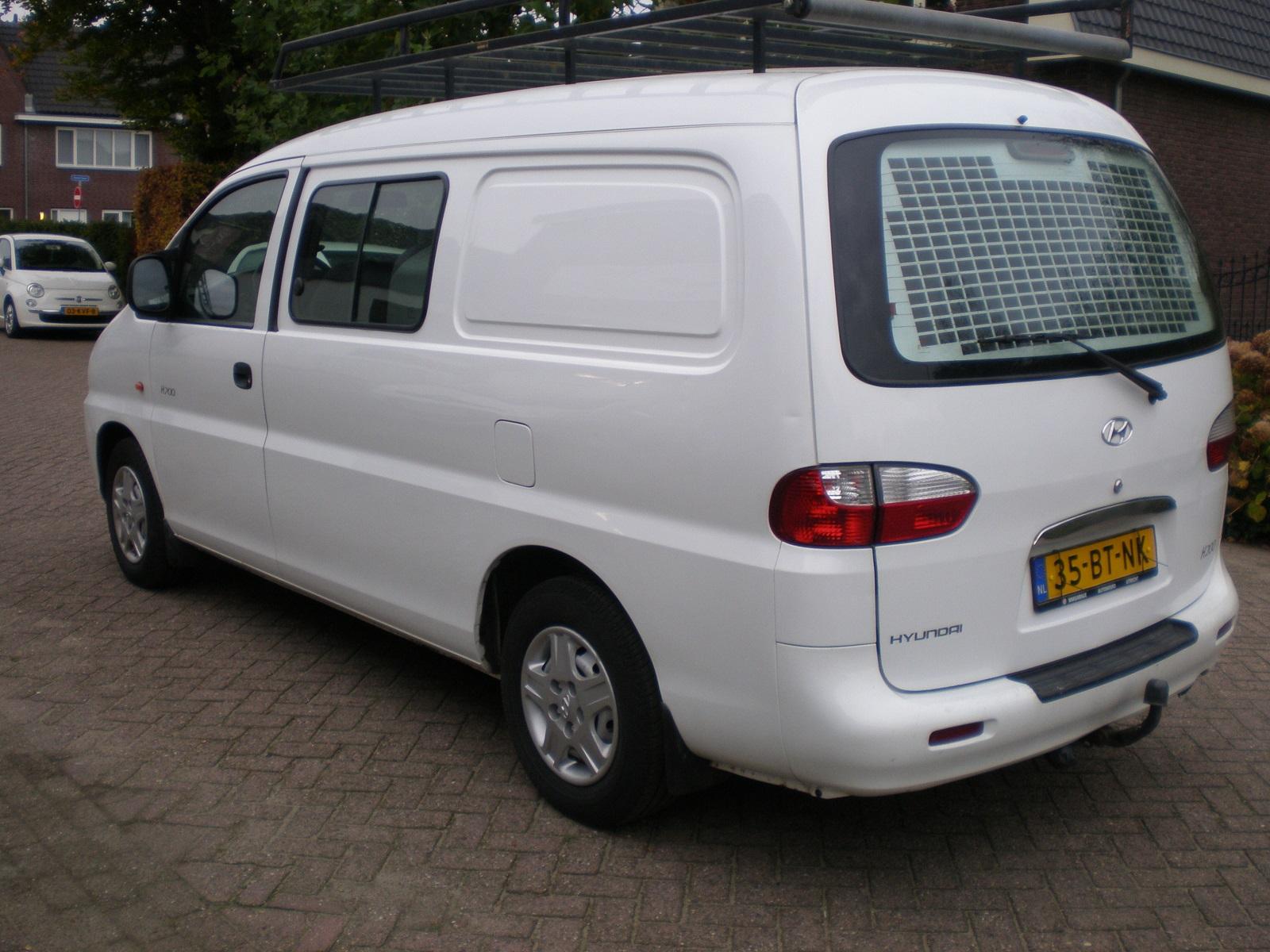 Hyundai H200 2.5 CRDI DC, 2005, met APK