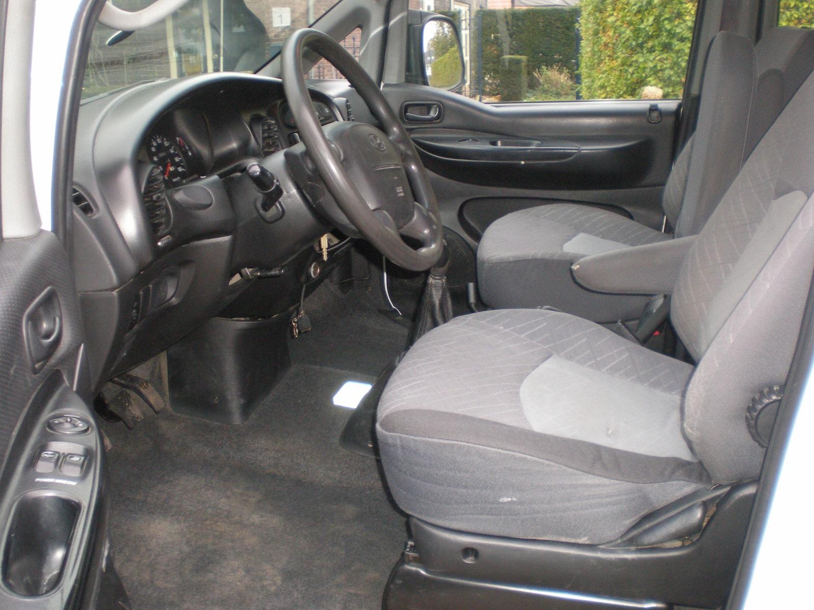 Hyundai H200 2.5 CRDI DC van 2005 met APK
