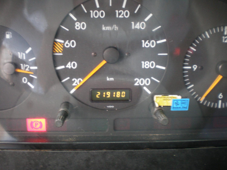 Mercedes-benz Sprinter 210 DC van 1999 logische kilometerstand